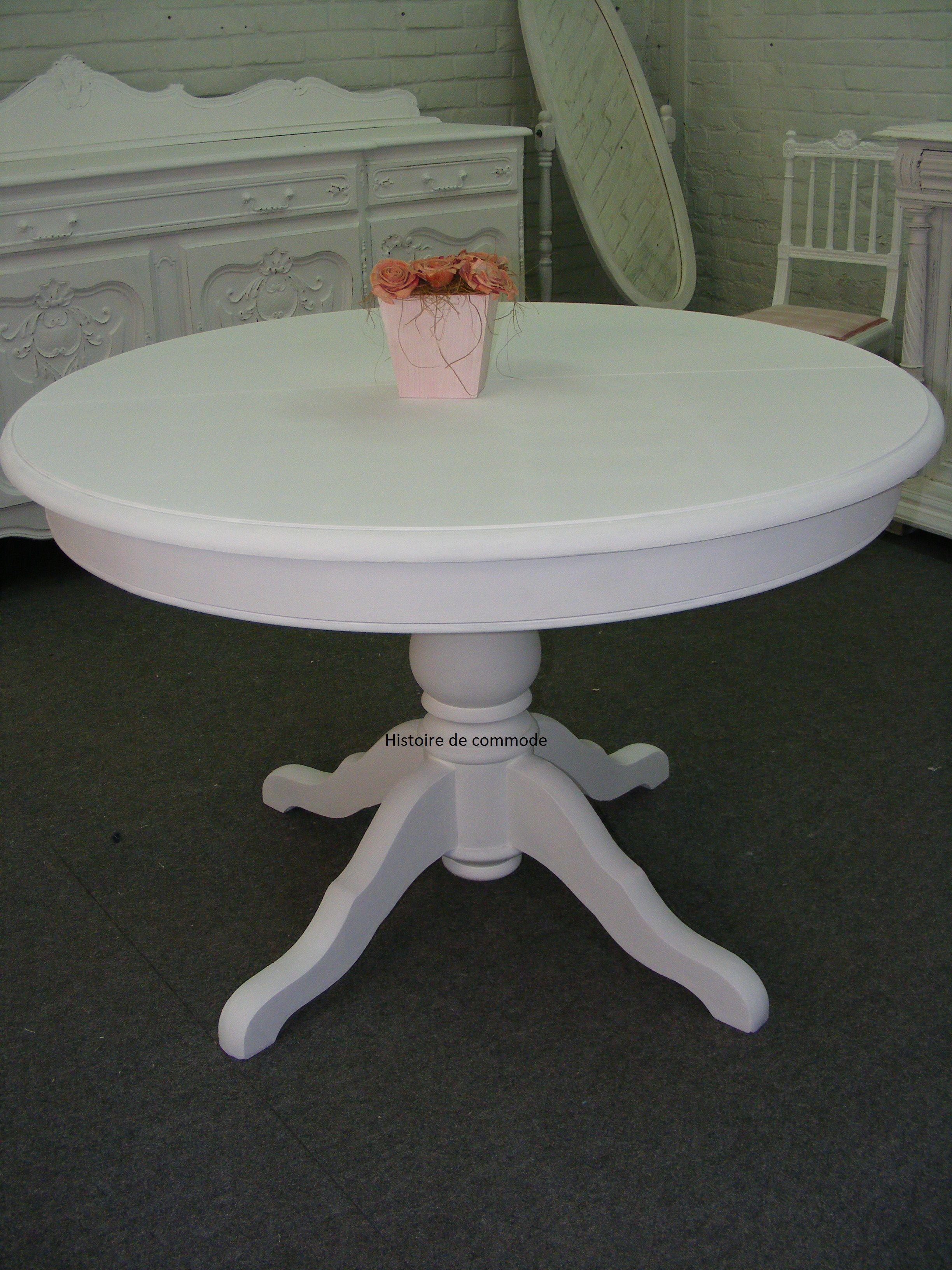 table ronde blanche. Black Bedroom Furniture Sets. Home Design Ideas